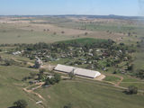 Picture relating to Greenethorpe - titled 'Greenethorpe from the air'
