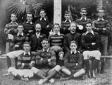 Picture relating to Rockhampton - titled 'Archer Junior Rugby Union Club from Rockhampton, ca. 1912'
