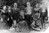 Picture relating to Beaudesert - titled 'Woods family, ca.1890'