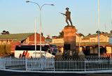 Picture relating to Kalgoorlie - titled 'War memorial and railway motel Kalgoorlie'