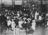 Picture relating to Queensland - titled 'Christmas party for incapacitated soldiers, 1939'