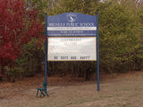 Picture of / about 'Brungle' New South Wales - Public School Sign