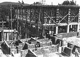 Picture relating to Acton - titled 'Australian Institute of Anatomy under construction. McCoy Circle, Acton.'