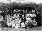 Picture relating to Laidley - titled 'Whitehouse family at Christmas time at the Tupcott property, Laidley distirct'