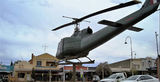 Picture relating to Nyngan - titled 'Helicopter ex Vietnam Nyngan'