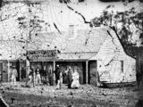 Picture relating to Stanthorpe - titled 'Quart Pot Hotel Stanthorpe, 1872'