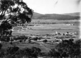 Picture relating to Red Hill - titled 'View from Red Hill over Forrest to Mount Ainslie'