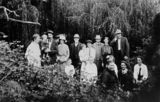 Picture relating to Gatton - titled 'Morrow family portrait, Gatton, Queensland, ca. 1910'