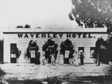 Picture relating to Stanthorpe - titled 'Waverley Hotel in Maryland Street Stanthorpe, ca. 1872'