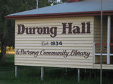 Picture relating to Durong South - titled 'Durong Hall - Durong South'