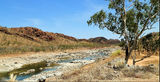 Picture relating to Lake Argyle - titled 'Spillway Creek near Lake Argyle'