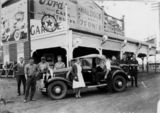Picture relating to Murgon - titled 'Waldock and Zerner staff with a roadster, Murgon, 1930'