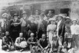 Picture relating to Eumundi - titled 'Andrew Fisher, Prime Minister, at the Eumundi Railway Station, 1908'