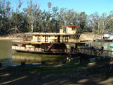 Picture relating to Echuca - titled 'Paddle Boat 'Emmylou' Echuca'