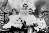 Picture relating to Townsville - titled 'Duffield children, Townsville, ca. 1902'