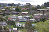 Picture relating to Daylesford - titled 'View over houses, Daylesford'