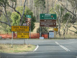 Picture relating to Tharwa - titled 'Intersection of Tharwa Road and Tidbinbilla Road'