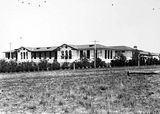 Picture relating to Braddon - titled 'Telopea Park School from the north. New South Wales Crescent, Braddon.'