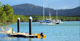 Picture relating to Cooktown - titled 'Endeavour River scene Cooktown'