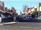 Picture relating to Ulverstone - titled 'Ulverstone Tasmania Main Street'