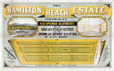 Picture relating to Hamilton - titled 'Estate map for Hamilton Reach Estate, Hamilton, Queensland, 1885'