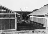 Picture relating to Black Mountain - titled 'CSIR Insectarium and Administration Building, Clunies Ross Street, Acton, Black Mountain, under construction.'
