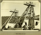 Picture relating to Somerset Dam - titled 'Head Towers for the Somerset Dam, 1937'