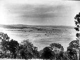 Picture relating to Oxley - titled 'Oxley Hill, Ttuggeranong Valley, Brindabellas on the horizon.'