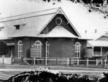 Picture relating to Charleville - titled 'Back view of St. Mary's Catholic Church, Charleville, ca. 1920'