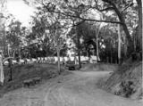 Picture of / about 'Mount Nebo' Queensland - Tents of the construction workers of Mount Nebo Road, 1931