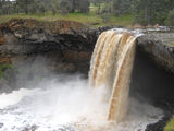 Picture relating to Wannon Falls - titled 'Wannon Falls in flood'
