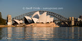 Picture relating to Sydney Harbour - titled 'Sydney Harbour - Sydney Opera House & Harbour bridge photo.'