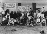 Picture relating to Clifton - titled 'Clifton residents in fancy dress, ca. 1914'
