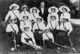 Picture relating to Maryborough - titled 'Group portrait of the Maryborough Girls Grammar School Hockey Club, 1913'