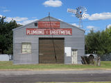 Picture relating to Tenterfield - titled 'Steel Plumber & Sheetmetal  Shed'