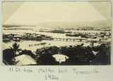Picture relating to Townsville - titled 'High water of the eleven foot tide, Townsville, 1924'