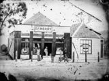 Picture relating to Stanthorpe - titled 'Thomas Merry's general drapery, men's clothing, millinery and fancy goods store, Stanthorpe, ca. 1873'