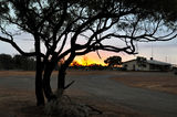 Picture of / about 'Yowah' Queensland - Yowah Sunset Main Road
