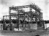 Picture relating to Kingston - titled 'Electrical transformers and switchyard near the Kingston Power Station'