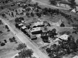 Picture relating to Warwick - titled 'Aerial photograph of Slade School, Warwick, 1936'