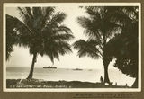 Picture relating to Palm Island - titled 'Steamship S.S. Orminston at Palm Island, near Townsville, 1932'