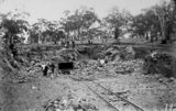 Picture of / about 'Mugga Quarry' the Australian Capital Territory - Mugga Quarry showing light railway and skip