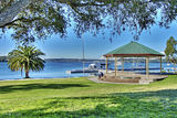 Picture relating to Toronto - titled 'Toronto Waterfront  Bandstand Landscape. Exclusive Original stock Photo Art '
