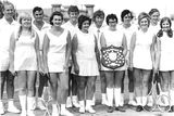 Picture relating to Arthurton - titled 'Arthurton Tennis Club 1972'