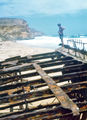 Picture relating to West Cape - titled 'Wreck of the Ethel, Ethel Beach, Yorke Peninsula '