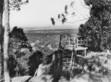 Picture relating to Mount Crosby - titled 'View from the lookout at the top of Mount Crosby'