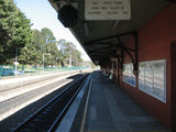 Picture relating to Mittagong - titled 'Mittagong Railway Station Platform'