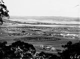 Picture relating to Manuka - titled 'View from Red Hill over Collins Park, Manuka and Kingston toward Duntroon.'