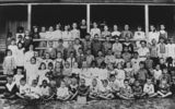 Picture relating to Pialba - titled 'Students from Pialba State School, Hervey Bay, Queensland, ca. 1912'