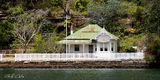 Picture relating to Sydney Harbour - titled 'Heritage Waterfront Cottage - Middle Harbour .'